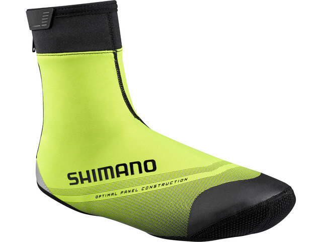 Shimano S1100R Softshell Overschoenen, neon yellow